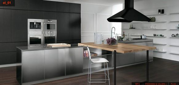 Tủ - Kệ bếp inox cao cấp 037