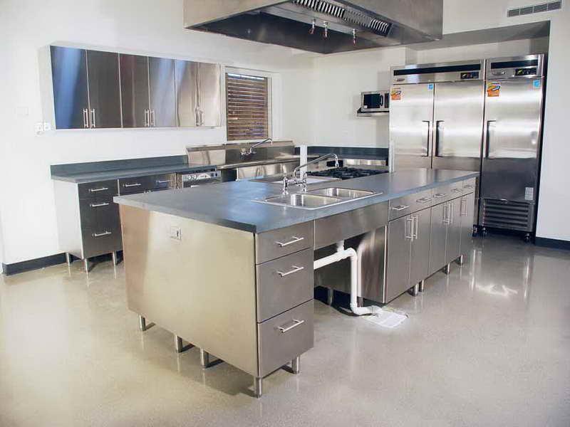 Tủ - Kệ bếp inox cao cấp 075
