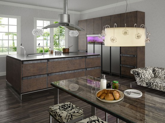 Tủ - Kệ bếp inox cao cấp 077