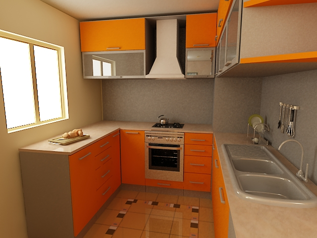 Tủ - Kệ bếp inox cao cấp 008