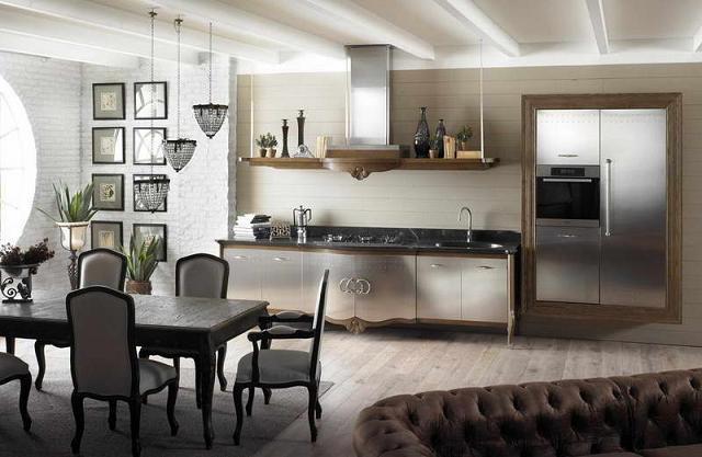 Tủ - Kệ bếp inox cao cấp 019