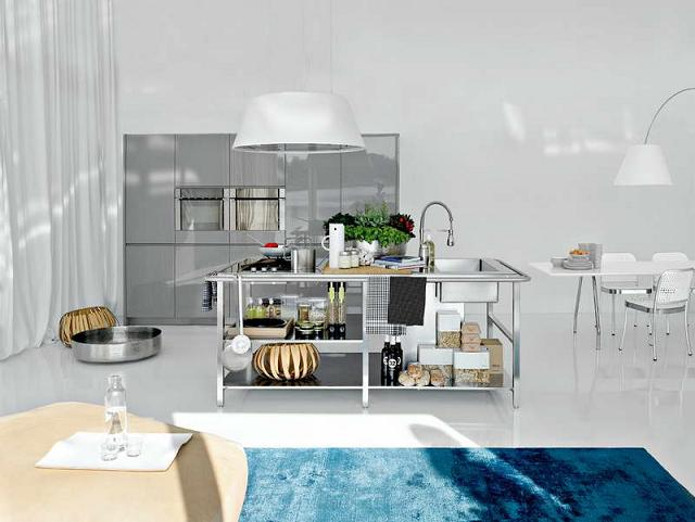 Tủ - Kệ bếp inox cao cấp 021