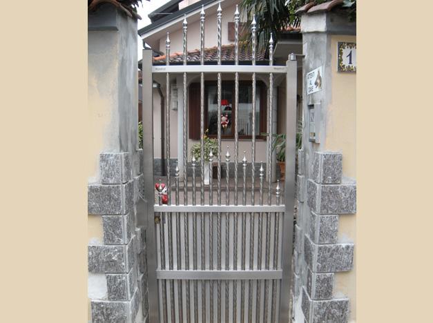 CỬA CỔNG 1 CÁNH INOX - INOX BÓNG MỜ 002   Inox Việt