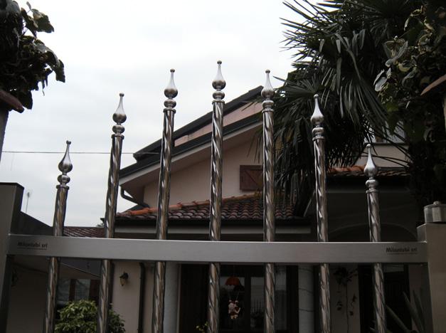 HÀNG RÀO INOX CAO CẤP - MẪU 089 | Inox Việt