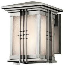 Chân đèn hộp treo tường cao cấp Inox 304