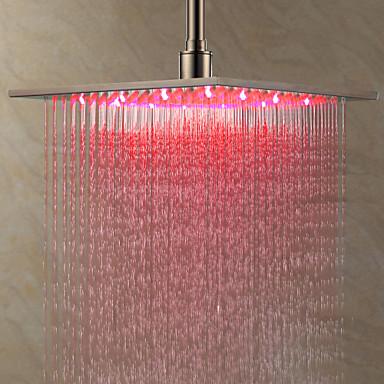 Đèn thác nước màu hồng - Treo trần inox 304