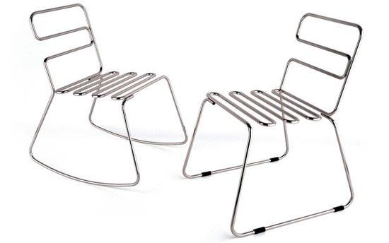 Bộ bàn ghế cách điệu cao cấp inox 316