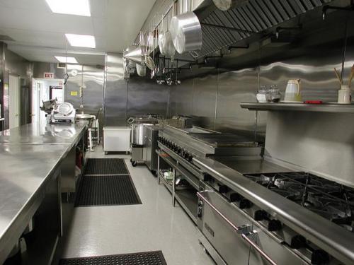 Bếp ăn công nghiệp Inox