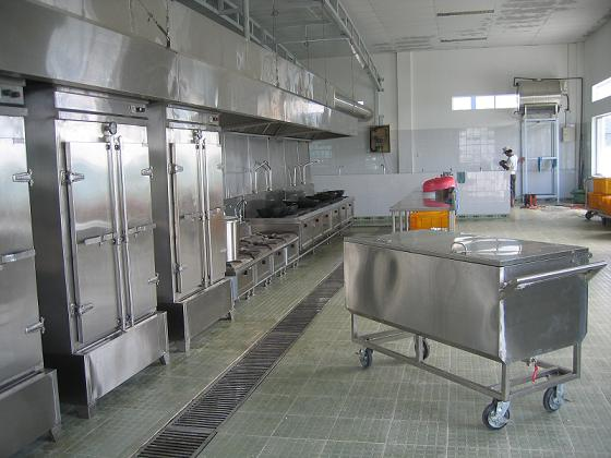 Thiết bị bếp nấu ăn công nghiệp