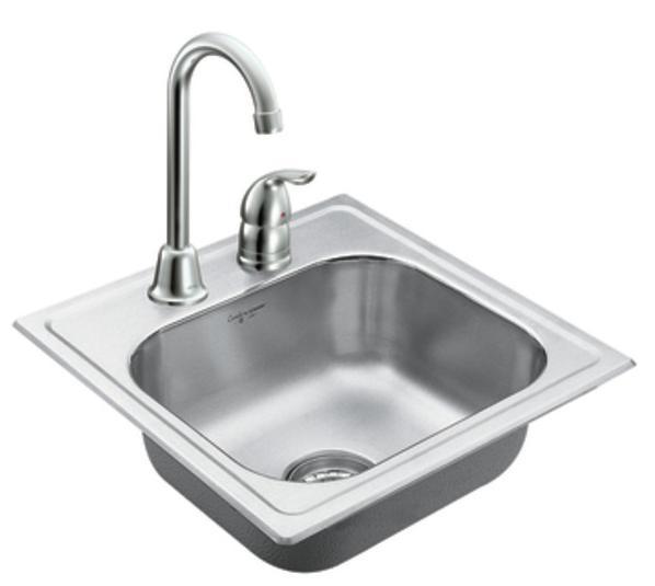 Chậu rửa cao cấp 1 ngăn - Inox 014 | Inox việt