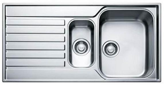 Chậu rửa cao cấp 2 ngăn, lớn nhỏ - Inox 015 | Inox việt