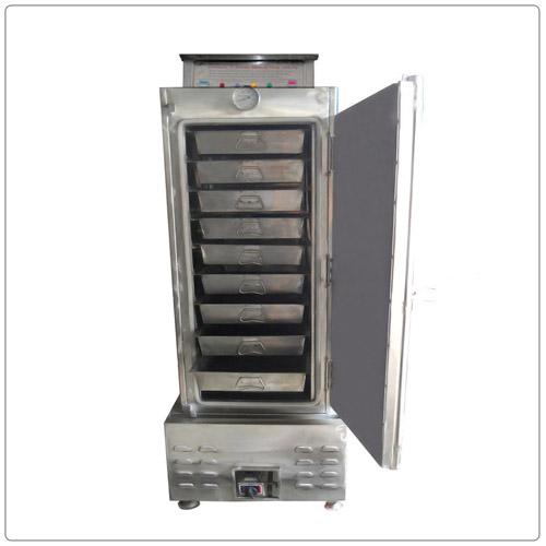 Tủ Cơm 50 Kg Dùng Điện + Gas