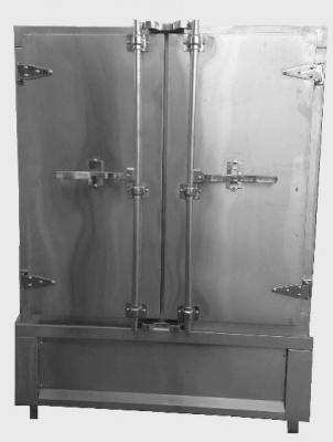 Tủ Cơm 100 Kg Dùng Điện + Gas